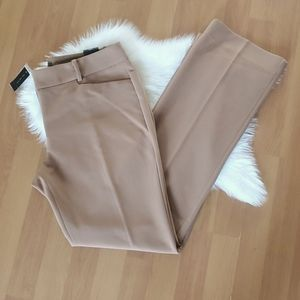 NWT The Limited camel tailored bootcut pants 12